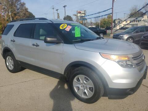2011 Ford Explorer for sale at Kachar's Used Cars Inc in Monroe MI
