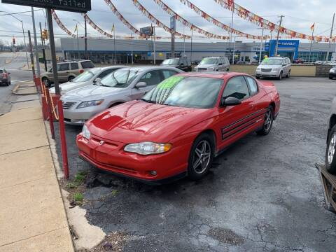 2004 Chevrolet Monte Carlo for sale at Credit Connection Auto Sales Inc. HARRISBURG in Harrisburg PA