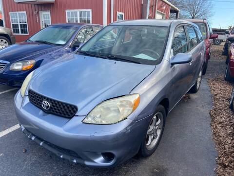 2003 Toyota Matrix for sale at Sartins Auto Sales in Dyersburg TN