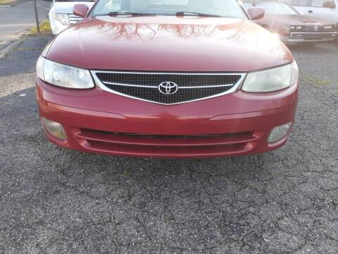 2001 Toyota Camry Solara for sale at Carlisle Cars in Chillicothe OH