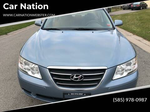 2010 Hyundai Sonata for sale at Car Nation in Webster NY