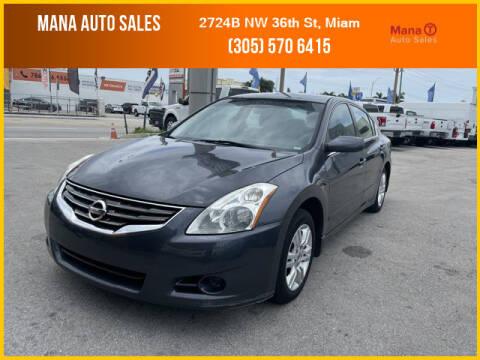 2010 Nissan Altima for sale at MANA AUTO SALES in Miami FL