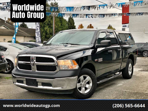 2014 RAM Ram Pickup 1500 for sale at Worldwide Auto Group in Auburn WA