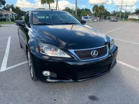 2014 Lexus IS 250C for sale at LUXURY AUTO MALL in Tampa FL