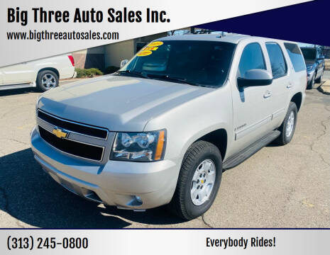 2009 Chevrolet Tahoe for sale at Big Three Auto Sales Inc. in Detroit MI