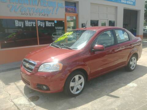 2010 Chevrolet Aveo for sale at QUALITY AUTO SALES OF FLORIDA in New Port Richey FL