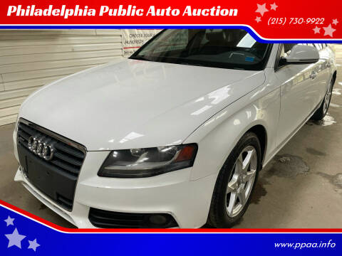2009 Audi A4 for sale at Philadelphia Public Auto Auction in Philadelphia PA