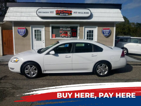 2013 Chevrolet Impala for sale at BIG DADDY'S  A.L.D. in Winston Salem NC