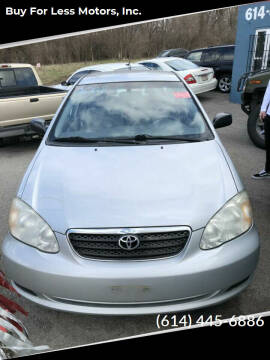 2008 Toyota Corolla for sale at Buy For Less Motors, Inc. in Columbus OH