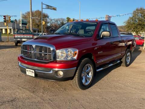 2008 Dodge Ram Pickup 1500 for sale at Toy Box Auto Sales LLC in La Crosse WI