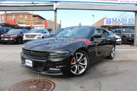 2015 Dodge Charger for sale at MIKEY AUTO INC in Hollis NY
