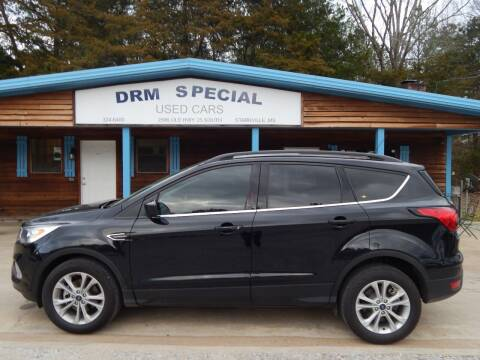 2019 Ford Escape for sale at DRM Special Used Cars in Starkville MS
