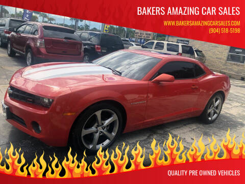 2011 Chevrolet Camaro for sale at Bakers Amazing Car Sales in Jacksonville FL