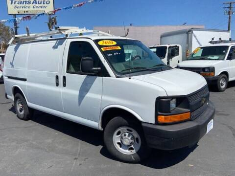2010 Chevrolet Express Cargo for sale at Auto Wholesale Company in Santa Ana CA