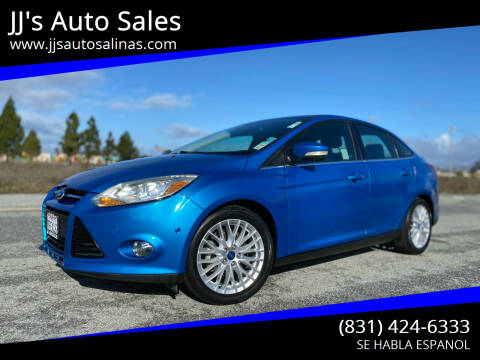 2012 Ford Focus for sale at JJ's Auto Sales in Salinas CA