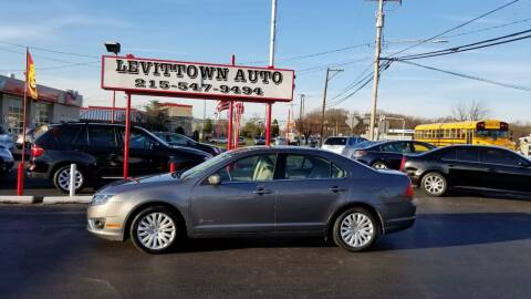 2011 Ford Fusion Hybrid for sale at Levittown Auto in Levittown PA