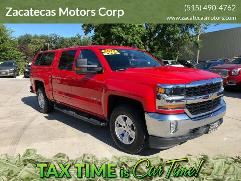 2017 Chevrolet Silverado 1500 for sale at Zacatecas Motors Corp in Des Moines IA