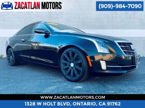 2015 Cadillac ATS for sale at Ontario Auto Square in Ontario CA