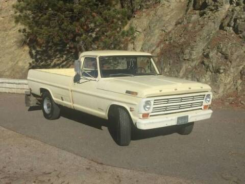 1968 Ford F-250 for sale at Classic Car Deals in Cadillac MI