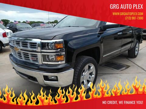 2015 Chevrolet Silverado 1500 for sale at GRG Auto Plex in Houston TX