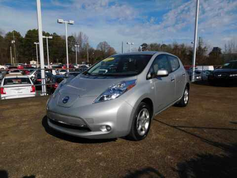 2012 Nissan LEAF for sale at Paniagua Auto Mall in Dalton GA