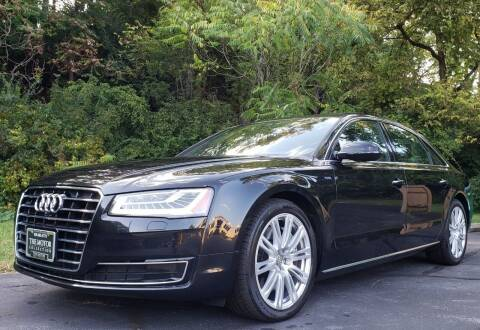 2015 Audi A8 L for sale at The Motor Collection in Columbus OH