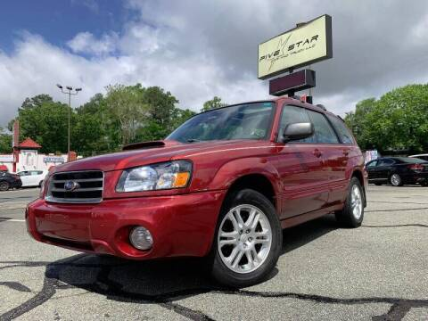 2004 Subaru Forester for sale at Cj king of car loans/JJ's Best Auto Sales in Troy MI