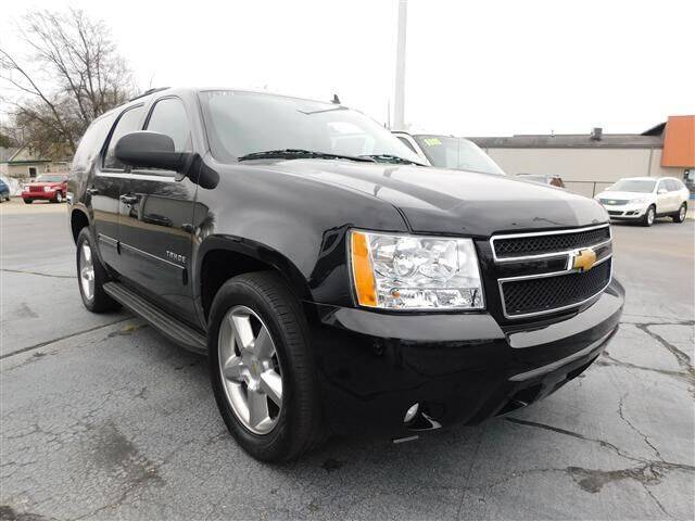 2014 Chevrolet Tahoe for sale at D & T Auto Sales, Inc. in Henderson KY