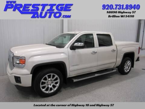 2015 GMC Sierra 1500 for sale at Prestige Auto Sales in Brillion WI