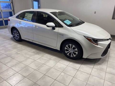 2021 Toyota Corolla Hybrid for sale at Harr's Redfield Ford in Redfield SD