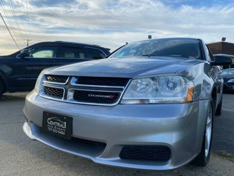 2013 Dodge Avenger for sale at Central 1 Auto Brokers in Virginia Beach VA