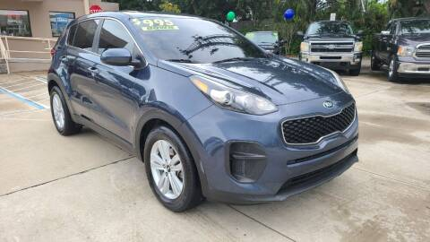 2018 Kia Sportage for sale at Dunn-Rite Auto Group in Longwood FL