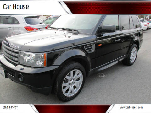 2007 Land Rover Range Rover Sport for sale at Car House in San Mateo CA