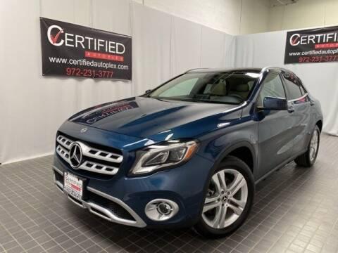 2020 Mercedes-Benz GLA for sale at CERTIFIED AUTOPLEX INC in Dallas TX
