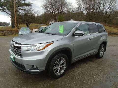 2016 Toyota Highlander for sale at Wimett Trading Company in Leicester VT