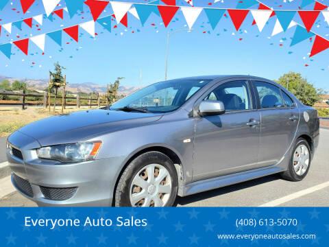 2012 Mitsubishi Lancer for sale at Everyone Auto Sales in Santa Clara CA