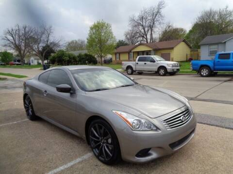 2008 Infiniti G37 for sale at DFW AUTO FINANCING LLC in Dallas TX