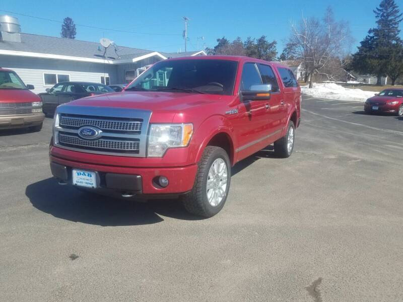 2010 Ford F-150 for sale at D AND D AUTO SALES AND REPAIR in Marion WI