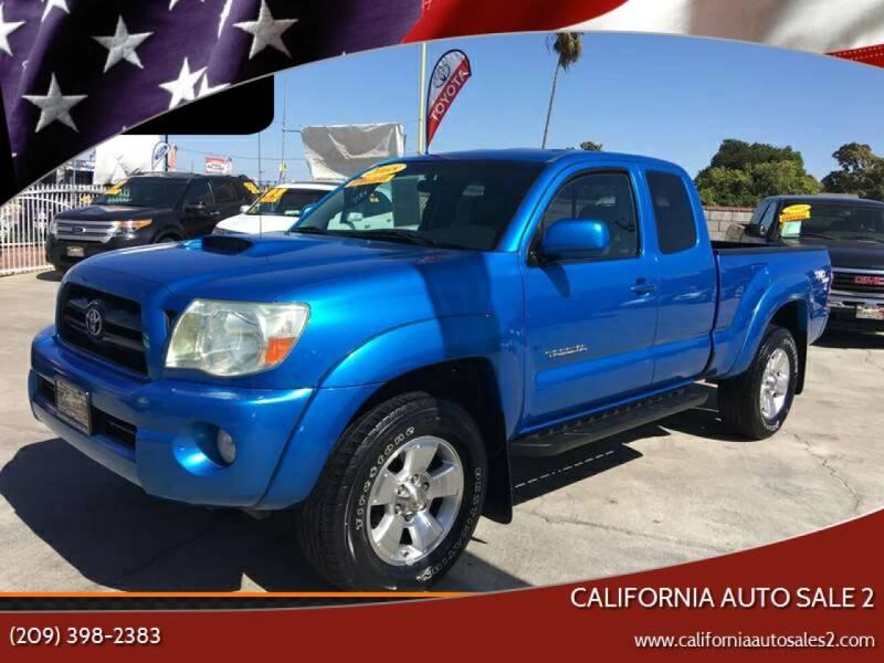 2008 Toyota Tacoma for sale at CALIFORNIA AUTO SALE 2 in Livingston CA