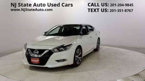 2017 Nissan Maxima for sale at NJ State Auto Auction in Jersey City NJ