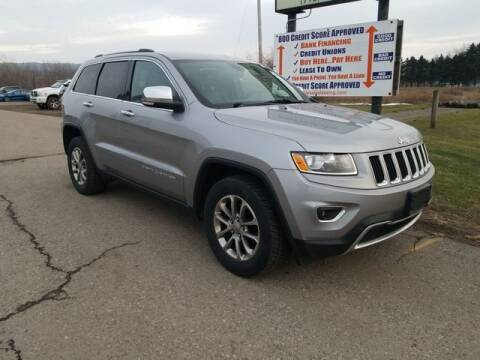 2015 Jeep Grand Cherokee for sale at Sensible Sales & Leasing in Fredonia NY