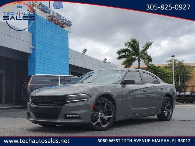 2018 Dodge Charger for sale at Tech Auto Sales in Hialeah FL