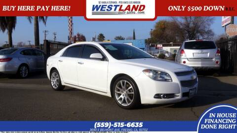 2011 Chevrolet Malibu for sale at Westland Auto Sales on 7th in Fresno CA