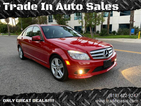 2010 Mercedes-Benz C-Class for sale at Trade In Auto Sales in Van Nuys CA