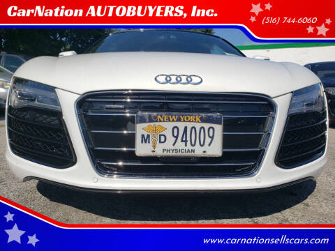 2014 Audi R8 for sale at CarNation AUTOBUYERS Inc. in Rockville Centre NY