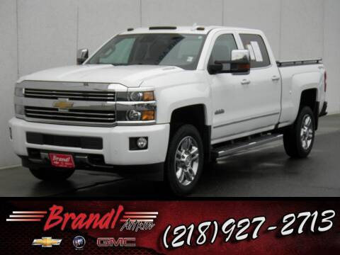 2016 Chevrolet Silverado 2500HD for sale at Brandl GM in Aitkin MN