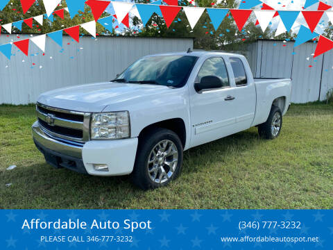 2007 Chevrolet Silverado 1500 for sale at Affordable Auto Spot in Houston TX