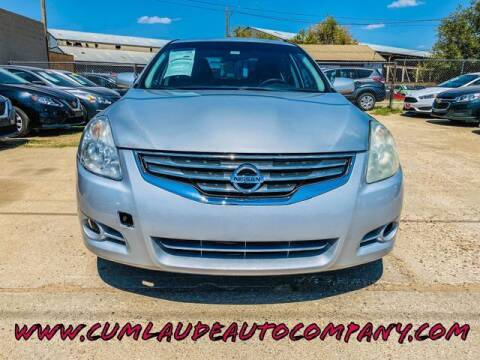 2011 Nissan Altima for sale at MAGNA CUM LAUDE AUTO COMPANY in Lubbock TX