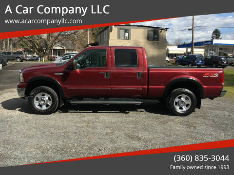 2005 Ford F-250 Super Duty for sale at A Car Company LLC in Washougal WA