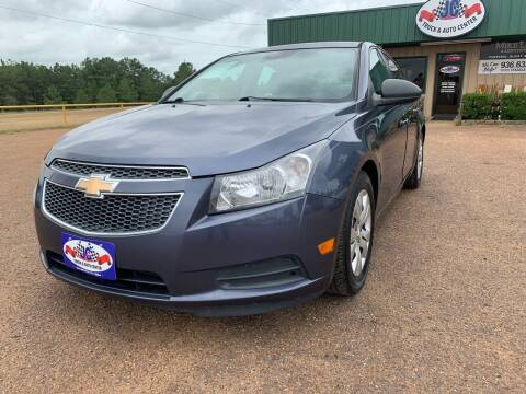 2013 Chevrolet Cruze for sale at JC Truck and Auto Center in Nacogdoches TX
